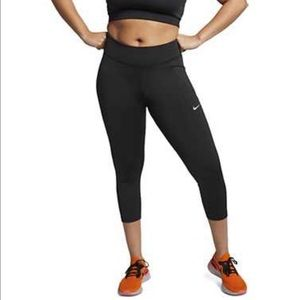 Nike Dry Fit Black Running Leggings Size XS